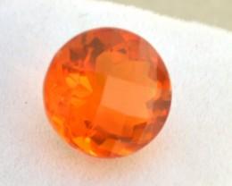 5.41 Carat Round Cut Very Fine Ethiopian Fire Opal