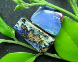 "9cts.""2 X BOULDER OPALS~COMPARE OUR PRICES!"""