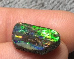 7.98ct Super Bright Flash Eromanga Boulder Opal