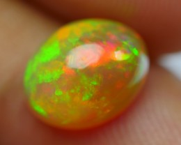 1.60 CRT DARK BASE 3D FIRE FLORAL PATTERN MULTICOLOR WELO OPAL
