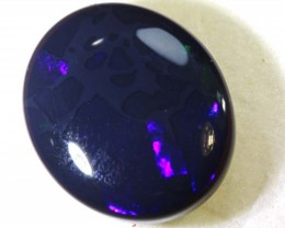 N2- 7.45   CTS -  BLACK OPAL POLISHED STONE TBO-8172