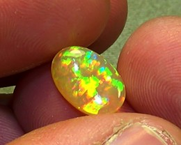 2.00 cts Ethiopian Welo RAINBOW MICROPUZZLE opal N6 4,5/5