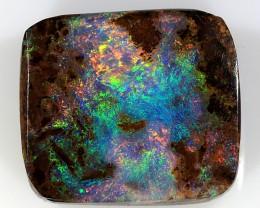 3ct 10x9mm Pipe Wood Fossil Boulder Opal  [LOB-1321]