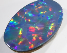 2.69Cts Opal Doublet from Cooper Pedy opal  SU1018