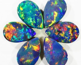 3.02Cts Opal Doublet from Cooper Pedy opal  SU1038