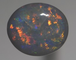 2.45 CT Semi Black Opal, Lightning Ridge Australia