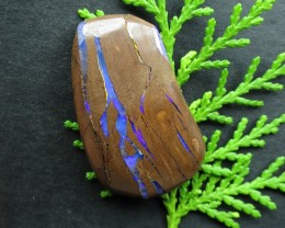 "64cts, ""BOULDER OPAL~BUY FROM THE MINER DIRECT!"""