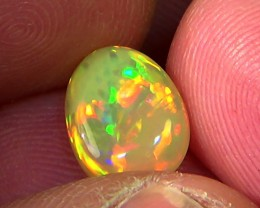 1.50 ct Ethiopian Welo CHAFF CELLS opal N6 4/5