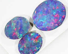 4.20Cts Opal Doublet from Cooper Pedy opal  SU1050