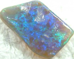 SOLID  BLACK OPAL RUB 6.70CTS FJP549