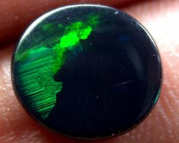 BEAUTIFUL RICH GREEN FIRE BLACK OPAL 1.5 CTS 1591