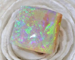 1.4CTS BOULDER OPAL  PIPE CRYSTAL POLISHED CUT STONE LO-4781
