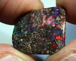 10.35 ct Beautiful Gem Multi Color Natural Queensland Boulder Opal