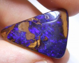 36ct Dark Blue Boulder Opal Polished Stone