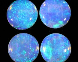 2.27Cts 4pcs Crystal fire  parcel  Coober Pedy Fire Opal  SU1096