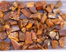 One Kilo Large Boulder Opal Rough Off Cuts  SU1113