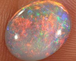 1.4ct 12x9.5mm Solid Lightning Ridge Dark Opal [LO-1031]