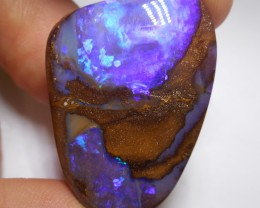 92ct Boulder Opal Polished Stone