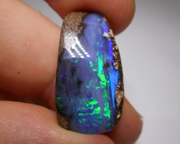 17.25ct Gem Quality Boulder Opal Polished Stone