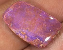10ct 21x14mm Pipe Wood Fossil Boulder Opal  [LOB-1403]
