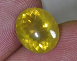 2.15 CT UNTREATED FIRE INDONESIAN FACETED OPAL