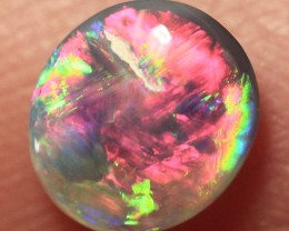 Lightning Ridge Solid Crystal Opal Stone 0.39ct