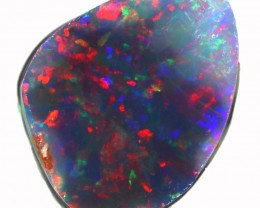 2.45 CTS  BLACK OPAL ROUGH-RUB DOUBLE SIDES[BR6042]