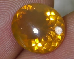 2.20 CT UNTREATED FIRE INDONESIAN FACETED OPAL