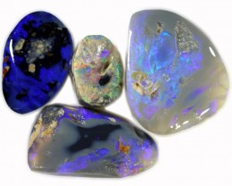 40.10 CTS  BLACK OPAL ROUGH FOR CARVING[BR6076]