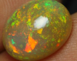 3.10cts INCREDIBLE CHAFF FIRE COLOR PLAY Ethiopian Opal