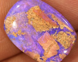 9.2ct 18x13mm Pipe Wood Fossil Boulder Opal  [LOB-1411]