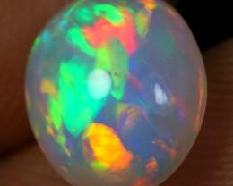 2.30cts Brush Rainbow Painting Ethiopian Opal