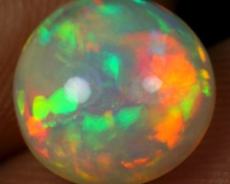 3.35cts Strong Iridescence Fire Ethiopian Opal