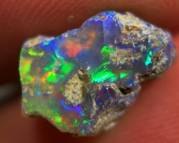 NR   Cts 3.45     RC524   Rough Ethiopian Wello Opal      Gem Grade
