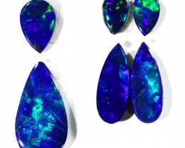 1.93Cts Set6  Gem Opal Doublet Parcel  SU1173