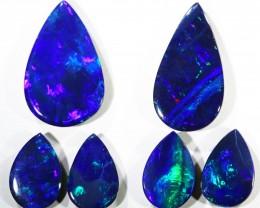 6.77Cts Set6 Gem Opal Doublet Parcel  SU1176