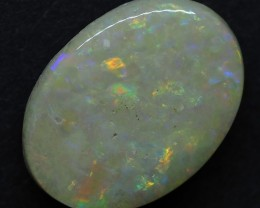 3.75CT SOLID SEMI BLACK LIGHTING RIDGE OPAL TO462