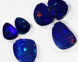 8.01Cts Set6 Gem Opal Doublet Parcel  SU1181