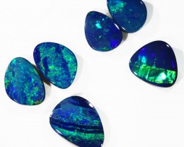 5.03Cts Set6 Gem Opal Doublet Parcel  SU1183