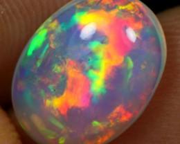 3.10cts Top 5/5 Flash Rainbow Fire Ethiopian Opal