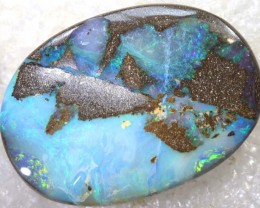 41.10CTS BOULDER OPAL DRILLED PENDANT NC-5143