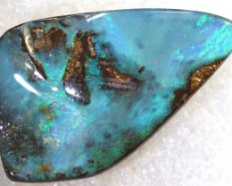 38.15CTS BOULDER OPAL DRILLED PENDANT NC-5138