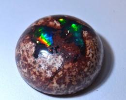 12.69ct  Fiery Indigo Blue  Mexican Matrix Opal Cantera