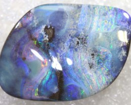 49.40CTS BOULDER OPAL DRILLED PENDANT NC-5162