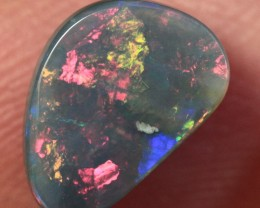 Lightning Ridge Solid Semi Black Opal Stone 0.96ct