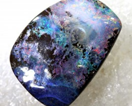 37.45CTS BOULDER OPAL DRILLED PENDANT NC-5167