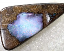 47.15CTS BOULDER OPAL DRILLED PENDANT NC-5169