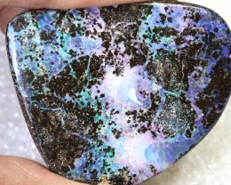87.05CTS BOULDER OPAL DRILLED PENDANT NC-5171
