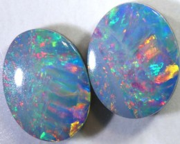 2.6CTS   OPAL DOUBLET   PAIR LO-4834