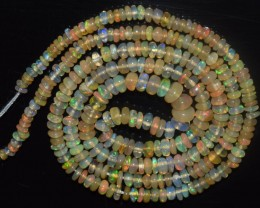 23.15 Ct Natural Ethiopian Welo Opal Beads Play Of Color